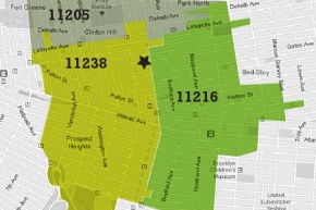 100 Quincy zip codes of survey respondents